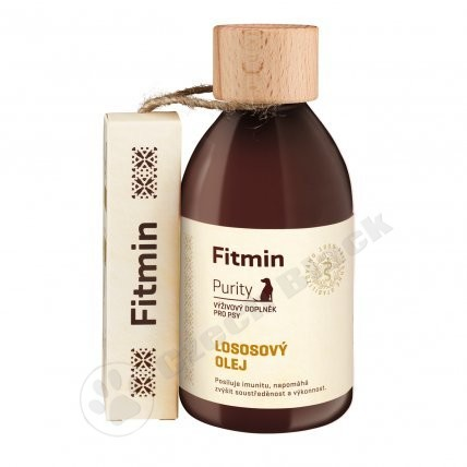 Lososový olej  Fitmin Purity 300 ml (1)